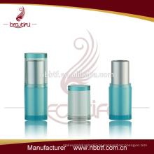 64LI21-12 tubo de batom plástico iluminado