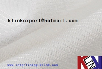 """60""""/44"""" WEFT INSERT FUSIBLE INTERLINING FOR GARMENT 42gsm ---HOT!!"""