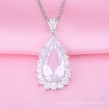 Bijoux de mode de haute qualité argent pendentif classique charme design (p0123)