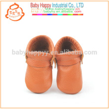 wholesale shoes baby moccasins brown cow leather soft sole baby shoes