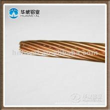 Soft copper silver copper alloy wire
