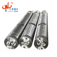 Zhoushan parallel twin screw barrel for floating fish feed extruder machine