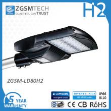 Класс защиты ik10 и IP66 80ВТ Кобра Глава уличный светильники с LM-80