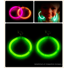 Brilho brincos brilho ornamentos brincos de crianças (ehd15160)