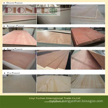 Okoume, Bintangor, Pine, etc Commercial Plywood with Best Price