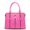 Ladies Handbag Made of PU Material with Zippers and Exquisite Workmanship