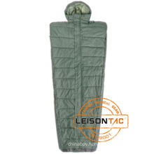 Army Sleeping Bag meets ISO Standard