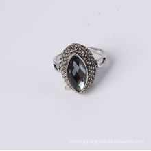 Cheap Price Fashion Jewelry Ring with Glass Stone