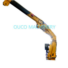 Pedestal Mounted Knuckle Telescopic Boom Port Cranes