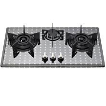 3 горелки из нержавеющей стали встроенный в газовая плита
