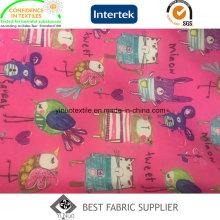 100 Polyester 300t Taft Genuss Daunenjacke gedruckt Stoff China Lieferant