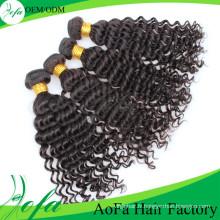 Cheveux vierges brésiliens non transformés de cheveux de Weavon 100% non transformés