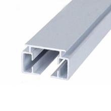 seção de moldura de alumínio para guarda-corpo de vidro / janela / porta