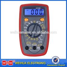 Multimètre numérique DT33B avec rétro-éclairage Buzzer / Test de batterie Holster
