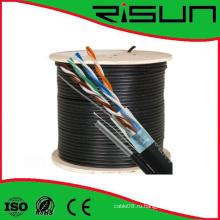 Горячая продажа цена по прейскуранту завода Открытый cat5e кабель FTP в локальной сети с Посыльным