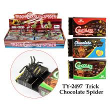 Araña del chocolate del truco