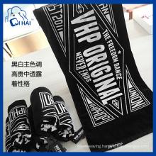 100% Cotton Yarn Hiphop Towel Latin Dance Towel