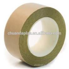 Venta al por mayor de tela de vidrio material de base impregnado con cinta adhesiva de politetrafluoroetileno (PTFE)
