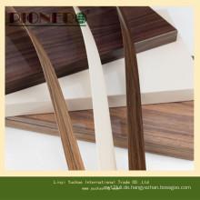 Sperrholz-PVC-Kantenanordnung für Dekoration