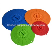 Made in China Home Kitchen Food Cover Silicone Lid
