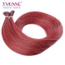 Top Quality Color #37 I Tip Human Hair Extensions