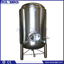 KUNBO 500-2000L Liters Beer Brewing Equipment HLT Hot / Cold Liquid Tank