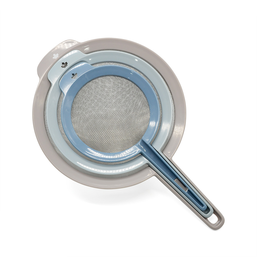 nesting kitchen strainer set