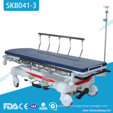 SKB041-3 Hospital Patient Hydraulic Transportation Trolley For Patient