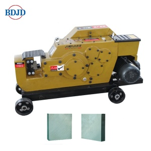 Manual rebar thread cutting machine untuk bar cutted