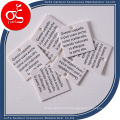 Etiqueta de cartão de papel pequena de agradecimento de preço barato / etiqueta de pendurar