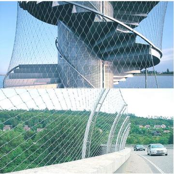 Stainless Steel Architecture Fleksibel Netting