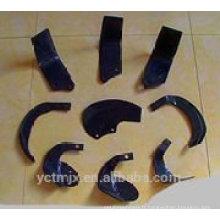 Vente chaude Réclamation et coupe de chaume, lame rotatoire de motoculteur, lame rotatoire de labourage,