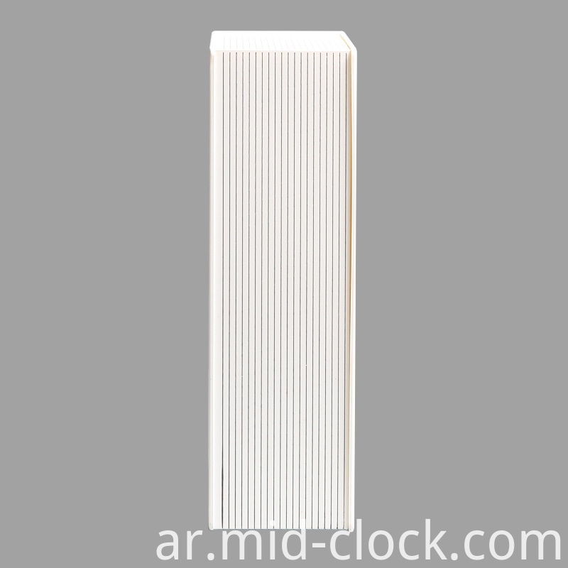 White Color Clock