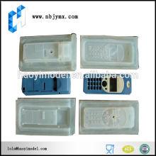 Personalizado vácuo fundição mobile phone proteção shell protótipo