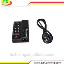 10 puertos USB portátil cargador rápido