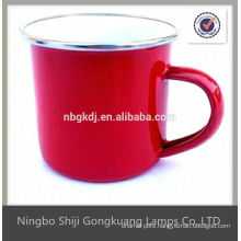 Traditional Metal Cup Mug Enamel
