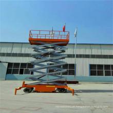 Sjy0.5-10 Plataforma do elevador de tesoura propelida