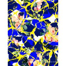 Impression numérique de tissu de maillots de bain de mode (ASQ070)