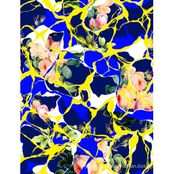 Fashion Swimwear Fabric Digital Printing (ASQ070)