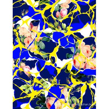 Модные купальники ткань цифровая печать (ASQ070)