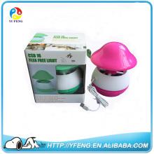 Repelente de pulgas CSB16 Ultrasonic e UV matador de mosquito luz