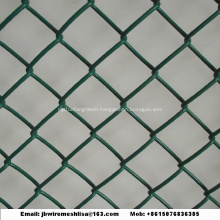 Galvanized And PVC Coated  Chain Link Fence