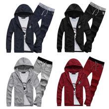 2016 Großhandelsgewohnheit Baumwolle Fitness Hoodie Männer