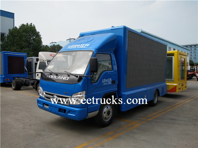 Mobile LED Advertising Trucks