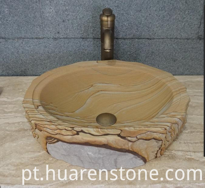 Sandstone Wash Basins