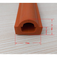 Various Flexible Heat Resistant Silicone Rubber Trim Strips