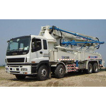 Isuzu 8X4 12wheel Concrete Pump Truck 4boom
