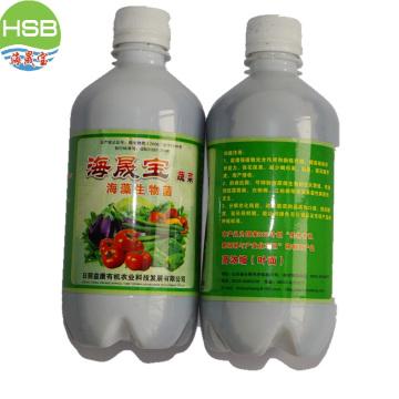 bio organic manure with iodine and seaweed for foliar