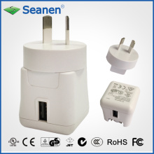5VDC 2A White Color Travel Charger with Aus/SAA AC Pin