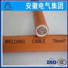 Cable flexible de la envoltura de goma flexible para el cable de soldadura de la soldadura